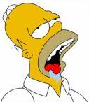 Homer Simpson Drool, Mmm... Carbs