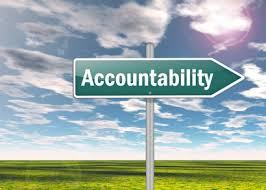 Accountability Signage